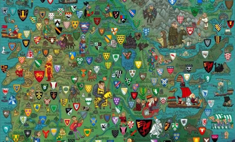 География Вопрос: Что такое гласный герб?