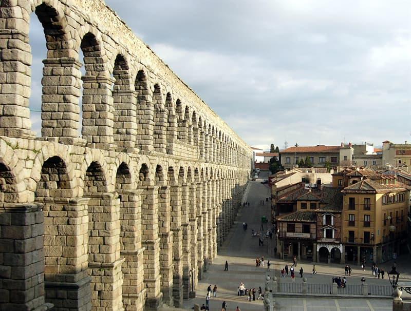 Historia Pregunta Trivia: ¿En qué ciudad española se encuentra la construcción de la imagen?