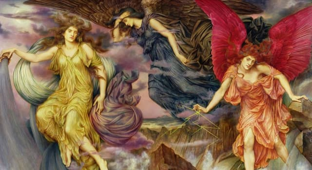 Культура Запитання-цікавинка: Еринії - в давньогрецькій міфології богині помсти і ненависті. Як звали найстрашнішу з іриній?