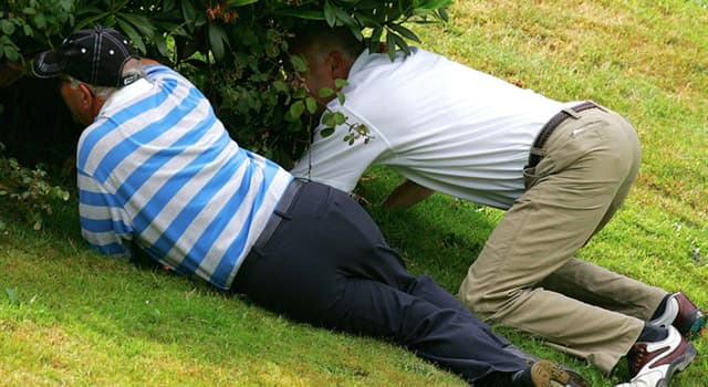 """Sport Trivia Question: How long can a golfer look for a lost ball before the ball is considered officially """"lost""""?"""