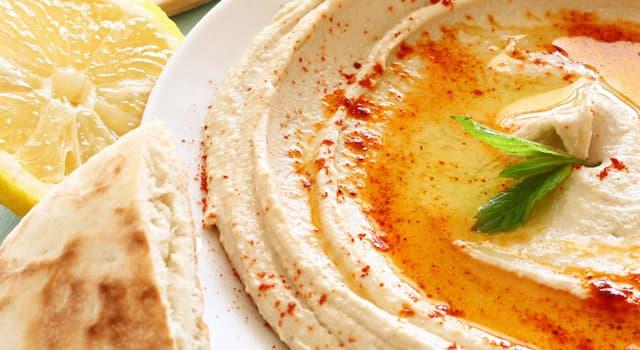Культура Запитання-цікавинка: Що є основним інгредієнтом хумус?