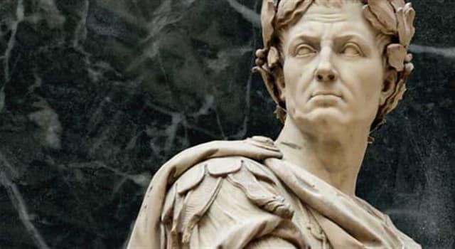 """historia Pytanie-Ciekawostka: Jak się kończy słynne powiedzenie Cezara: """"Przybyłem, zobaczyłem...""""?"""
