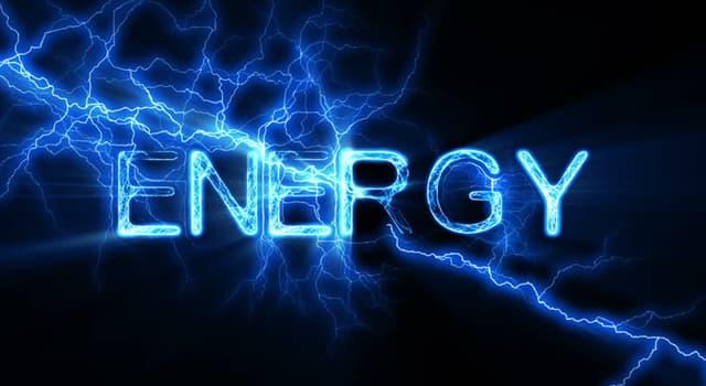 nauka Pytanie-Ciekawostka: Jaki termin opisuje energię wytworzoną przez poruszający się obiekt?