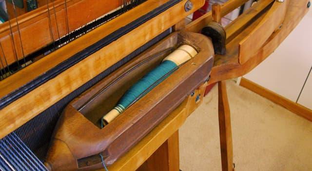 Суспільство Запитання-цікавинка: Як називається робочий орган ткацького верстата, що прокладає поперечну нитку при виробленні тканини?
