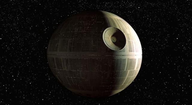 Фільми та серіали Запитання-цікавинка: Як називається вигадана бойова космічна станція з всесвіту «Зоряних воєн»?