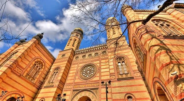 Культура Запитання-цікавинка: Яка синагога найбільша в Європі?