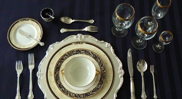 Культура Запитання-цікавинка: Яким терміном позначають повний набір предметів для однієї людини на накритому столі?