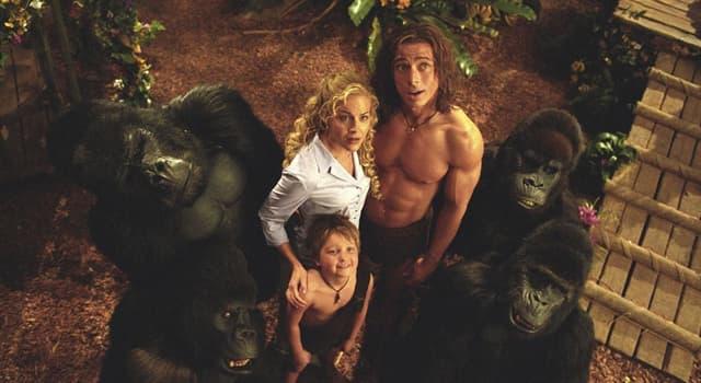 """Filmy Pytanie-Ciekawostka: Kto był głosem goryla Małpy w filmie """"George prosto z drzewa""""?"""