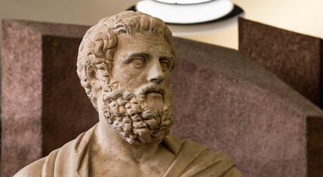 Культура Запитання-цікавинка: Хто був учнем Есхіла?