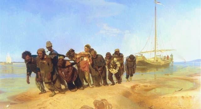 Культура Запитання-цікавинка: Хто є автором картини «Бурлаки на Волзі»?