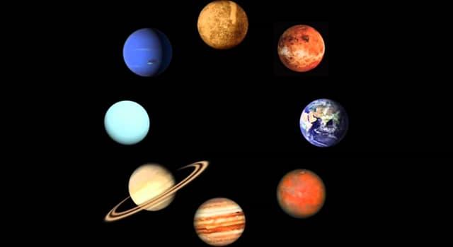 nauka Pytanie-Ciekawostka: Która z czterech planet skalistych w naszym układzie słonecznym jest największą i najgęstszą?