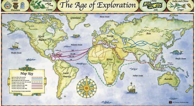 historia Pytanie-Ciekawostka: Który odkrywca został uznany przez ludność rdzenną za wcielenie boga Lono?