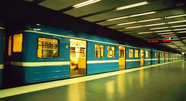 społeczeństwo Pytanie-Ciekawostka: Który system metra ma najwięcej stacji?