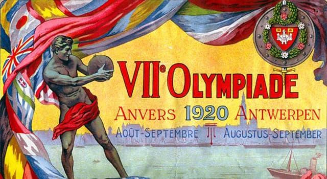 sport Pytanie-Ciekawostka: Który z tych elementów protokołu olimpijskiego NIE pojawił się na Igrzyskach Olimpijskich 1920?