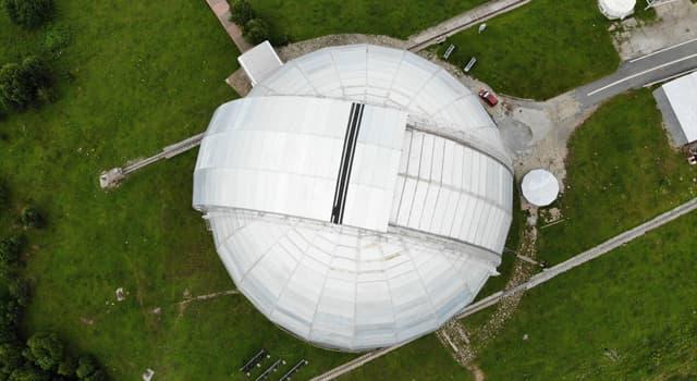Географія Запитання-цікавинка: На території якої країни знаходиться найбільший телескоп у Євразії?