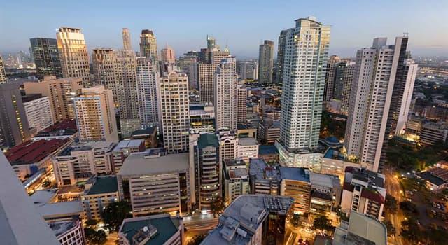 Географія Запитання-цікавинка: Яке місто є столицею Філіппін?