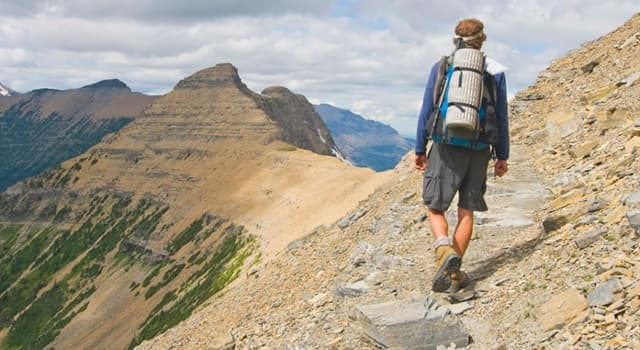 Geography Trivia Question: Approximately how many people a year try to hike the 3,100-mile Continental Divide Trail: Mexico to Canada?