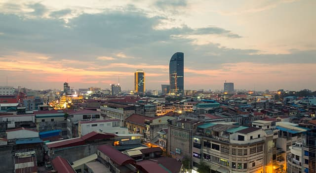 Geography Trivia Question: Phnom Penh is the largest city in which Southeast Asian country?