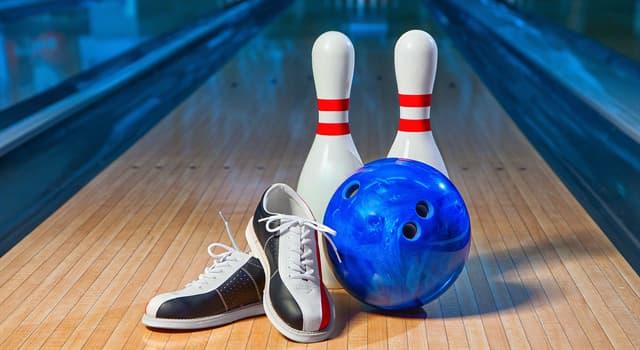Спорт Запитання-цікавинка: Скільки кеглів використовується в найпоширенішому варіанті боулінгу?
