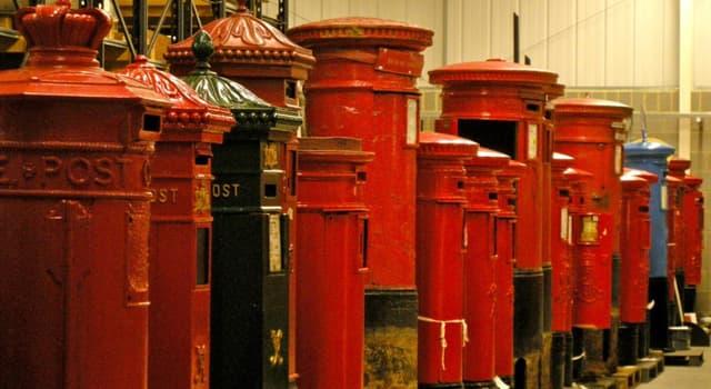 społeczeństwo Pytanie-Ciekawostka: Na której wyspie Wielkiej Brytanii pojawiły się pierwsze skrzynki pocztowe w kształcie kolumn?