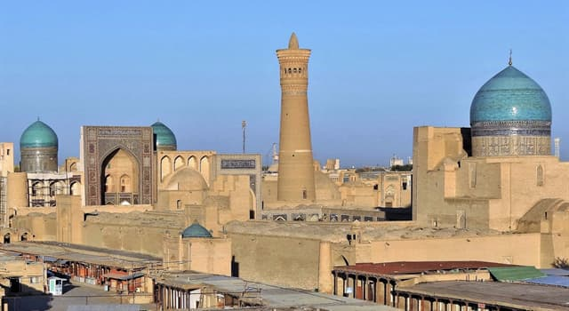 History Trivia Question: The 150 foot Kalyan Minaret is used to call Muslims to prayer. By what name is it also called?