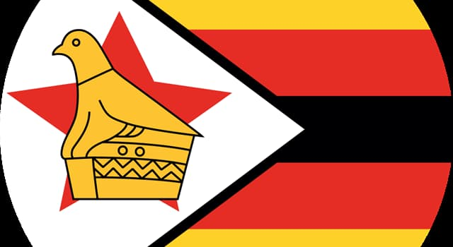 Geography Trivia Question: The flag of which country features the soapstone bird shown?