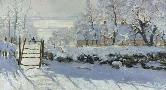 Culture Trivia Question: The following painting is by which artist?