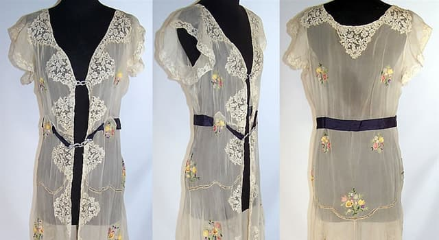 Culture Trivia Question: The French word 'negligee' suggests that the wearer doesn't do what?