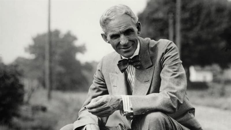 Gesellschaft Wissensfrage: Der Mann auf dem Foto war der Begründer eines bekannten Autokonzerns. Wie hieß er?