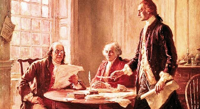 History Trivia Question: The US Declaration of Independence was created by men who were mostly influenced by which movement?
