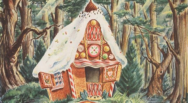 Культура Запитання-цікавинка: В якій казці братів Грімм є відьма-людоїдка, що живе в лісі, в будинку з хліба і солодощів?