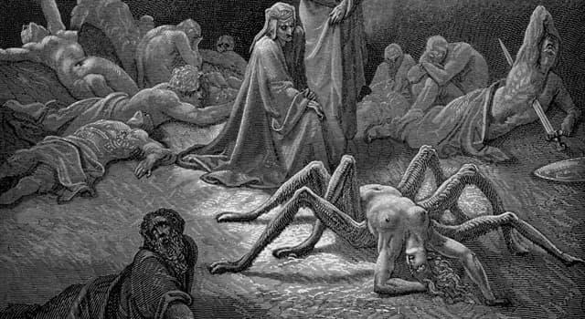 Kultur Wissensfrage: Von wem wurde in der griechischen Mythologie Arachne in eine Webspinne verwandelt?