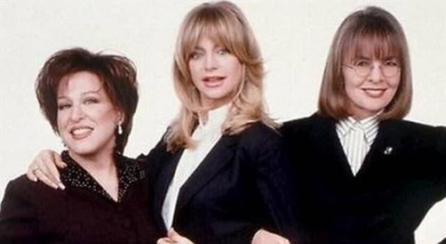 Filmy Pytanie-Ciekawostka: W którym filmie biorą udział aktorki Diane Keaton, Bette Midler i Goldie Hawn?