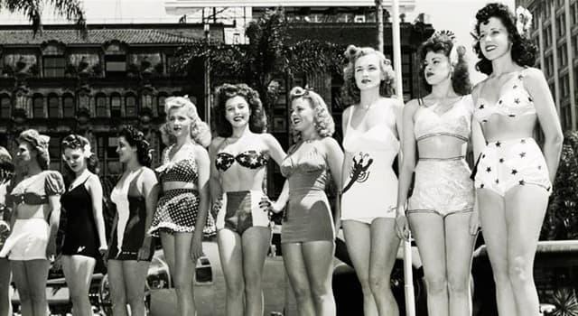 Kultura Pytanie-Ciekawostka: W którym roku Louis Réard wynalazł bikini?
