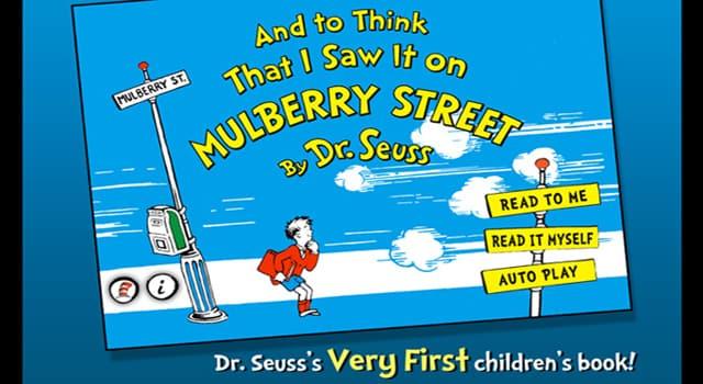 Kultura Pytanie-Ciekawostka: W którym roku ukazała się pierwsza książka dla dzieci, której autorem był Dr. Seuss?