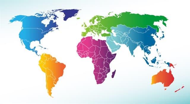 Geographie Wissensfrage: Was ist der einwohnerstärkste Kontinent der Erde?