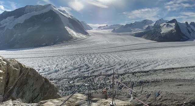 Geographie Wissensfrage: Was ist der größte und längste Gletscher der Alpen?