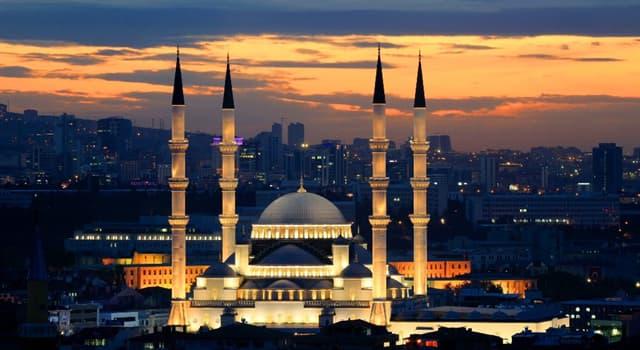 Geographie Wissensfrage: Was ist die Hauptstadt der Türkei?