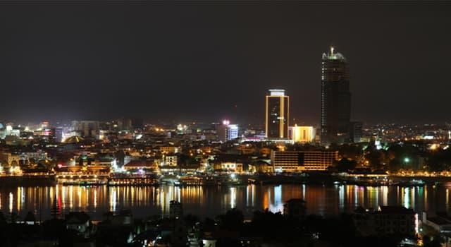 Geographie Wissensfrage: Wie heißt die Hauptstadt von Kambodscha?