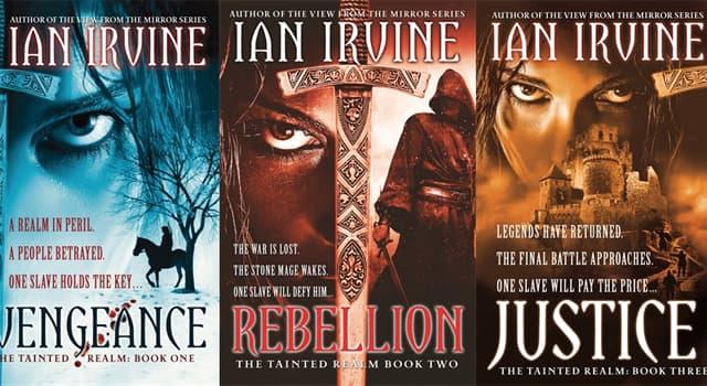Kultur Wissensfrage: Welche Staatsangehörigkeit hat der Schriftsteller Ian Irvine?