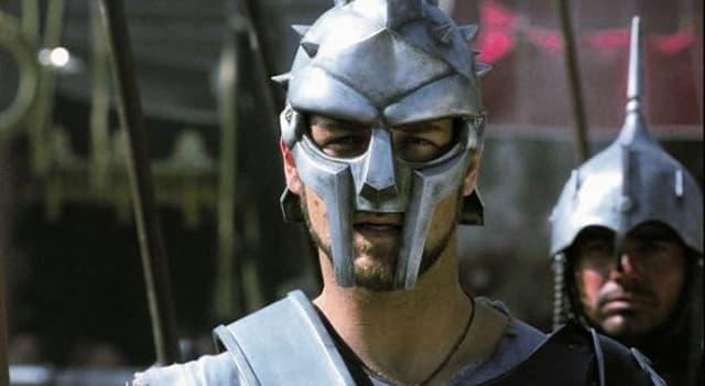 """Film & Fernsehen Wissensfrage: Welcher (welche) Schauspieler spielte(n) im Monumentalfilm """"Gladiator"""" aus dem Jahr 2000?"""