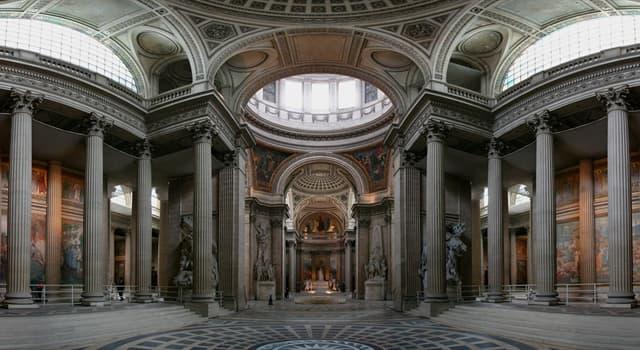 Geschichte Wissensfrage: Wer war die erste Frau, die im Panthéon begraben wurde?