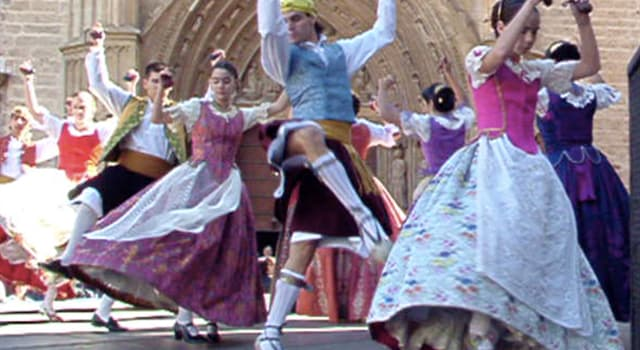"Culture Trivia Question: In which European country did the folk dance called ""jota"" originate?"