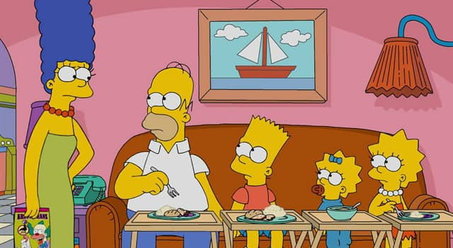 """Movies & TV Trivia Question: What was the name of the Simpson's first cat in the TV animated sitcom """"The Simpsons""""?"""