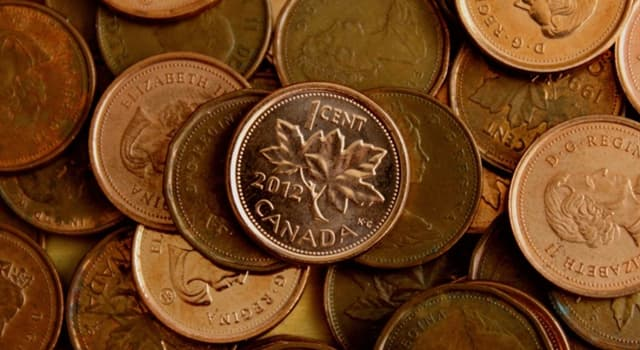 Society Trivia Question: When was the Canadian penny discontinued?