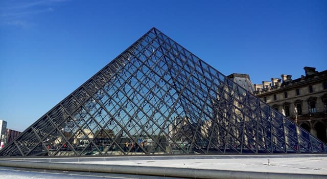 Culture Trivia Question: Which architect was responsible for the glass Pyramid at the Louvre?
