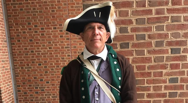History Trivia Question: Which country's military soldiers first used the tricorne hat seen in the picture?