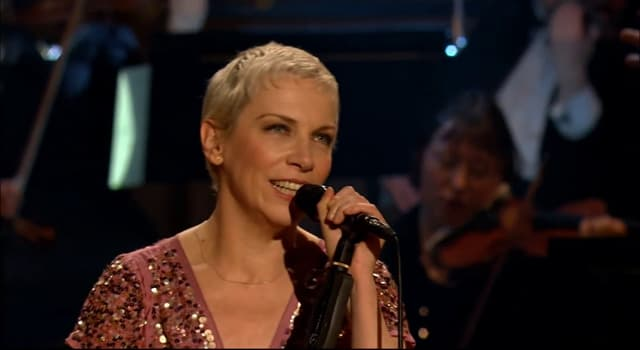 Culture Trivia Question: Which Eurythmics song featured the lead singer entering a derelict cottage in a nightgown?