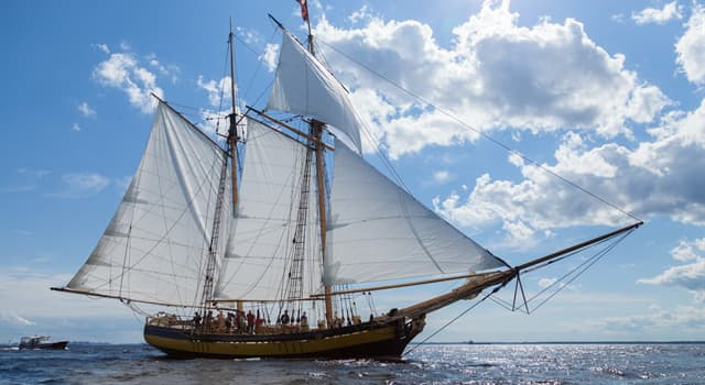 Culture Trivia Question: Which is a type of ship that has two masts and the foremast being shorter than the mainmast?