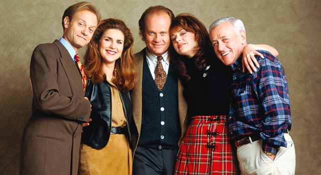 """Movies & TV Trivia Question: Which member of the cast of """"Frasier"""" is the godparent to Jane Leeves daughter?"""